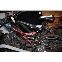 RED NAKAMURA DEFIANT 2.6 18-SPEED MOUNTAIN BIKE