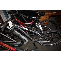 SILVER JAMIS TRAILX 650 21-SPEED MOUNTAIN BIKE