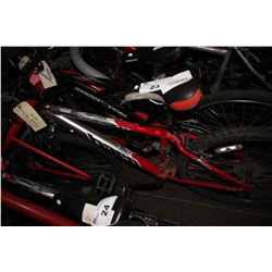 RED/GREY TARO V1 SERIES 21-SPEED MOUNTAIN BIKE