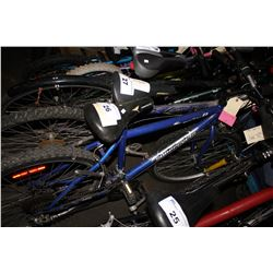 BLUE SUPERCYCLE 18-SPEED MOUNTAIN BIKE
