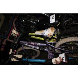 PURPLE HUFFY SEASTAR CHILD'S BICYCLE