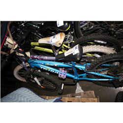 BLUE TRIBAL FOXI 6-SPEED CHILD'S BICYCLE