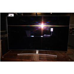 "55"" CURVED SAMSUNG TV MODEL# QN55Q7CAMFXZC"