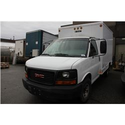 2003 GMC 2WHDR, VAN WITH TOOL SHELVING, GAS, AUTOMATIC, VIN#1GDHG31UX31172239, DEAD BATTERY, RD,CR,