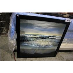 CANVAS PRINT - BEAUTIFUL OCEAN/BEACH VIEW