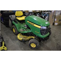 JOHN DEERE X300R RIDE ON LAWN MOWER - 69 HOURS