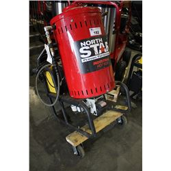 NORTH STAR INDUSTRIAL HOT BOX 4000 PSI ELECTRIC & DIESEL/KEROSENE HOT WATER PRESSURE WASHER