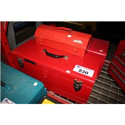 3 ASSORTED TOOLBOXES WITH CONTENTS