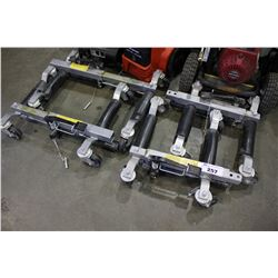 4 HYDRAULIC VEHICLE DOLLIES