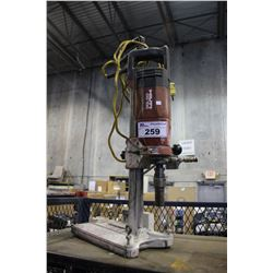HILTI DD100 DIAMOND CORING DRILL ON STAND & TF 5/H PUMP