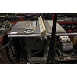 ROCKWELL HEAVY DUTY TABLE SAW