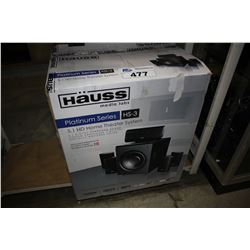 HAUSS PLATINUM 5.1 HD HOME THEATER SYSTEM