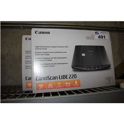 PAIR OF CANOSCAN LIDE 220 SCANNERS