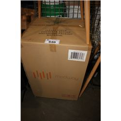 CLEAR SEATED BAR STOOL - IN BOX