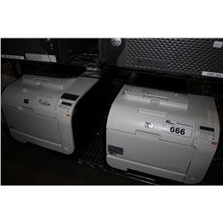 TWO HP LASERJET PRO 400 PRINTERS
