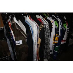 LARGE LOT OF ASSORTED CLOTHING