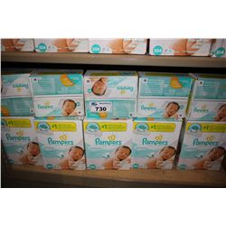 LARGE LOT OF PAMPERS SENSITIVE WIPES