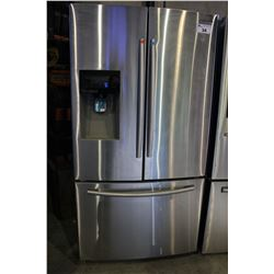 STAINLESS STEEL SAMSUNG TWO-DOOR FRIDGE/FREEZER WITH WATER AND ICE