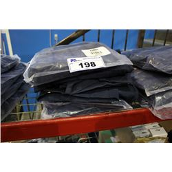 STACK OF 5 BRAND NEW CONDOR BIB  WORK OVERALLS - LARGE