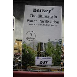 BERKLEY WATER PURIFICATION SYSTEM