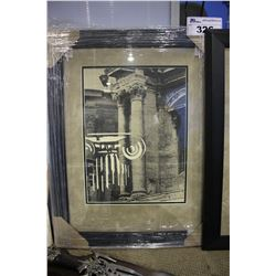 FRAMED ROMAN THEMED PRINT