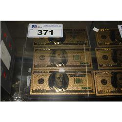 3 - $100 US NOVELTY COLLECTOR BILLS