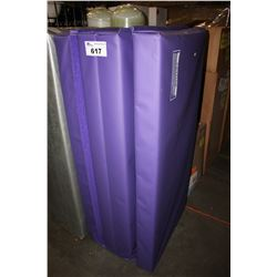 "THE BEAM STORE PURPLE 4' BY 8' BY 4"" FOLDING GYM MAT"