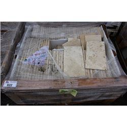 CRATE OF TILE