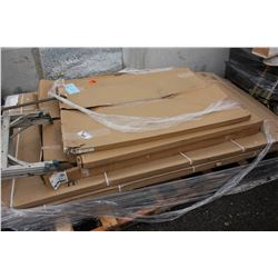 PALLET OF WHITEBOARDS AND MORE