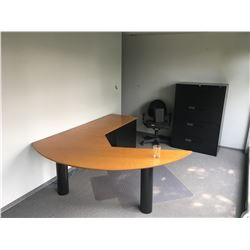 ALL FURNITURE IN OFFICE