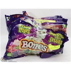 6 BAGS OF BONES FRUIT POPS - 25 PER BAG