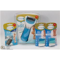 BAG WITH AMOPE PEDI PERFECT EXTRA COARSE ELECTRONIC