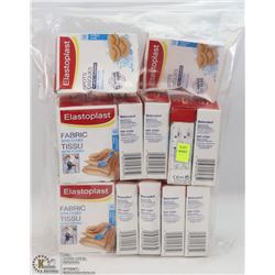BAG OF ASSORTED ELASTOPLAST STRIPS
