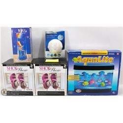 NEW ITEMS AQUALITE LIGHTED