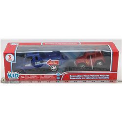 KID CONNECTION RECREATION TEAM VEHICLE PLAY SET