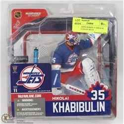 MCFARLANES SERIES 11 NIKOLAI KHABIBULIN #35 BLUE