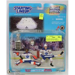 STARTING LINEUP CLASSIC DOUBLES 1999-2000 FUHR AND