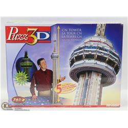 NEW GIANT PUZZ-3D TORONTO CN TOWER PUZZLE.