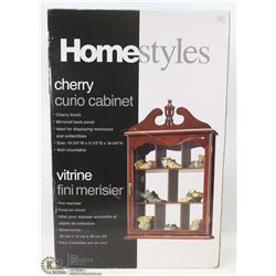 NEW HOME STYLES CHERRY CURIO