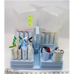 LARGE BATCH CRAFT FABRIC PAINT ON TRAY SYSTEM