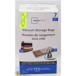 7PC VACUUM STORAGE BAGS