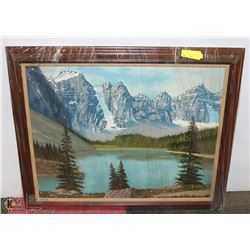 CANVAS PAINTING FRAMED