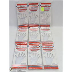 LOT OF DISPOSABLE GLOVES