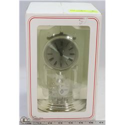 KUNDO ANNIVERSARY CLOCK WITH CRYSTAL IN BOX