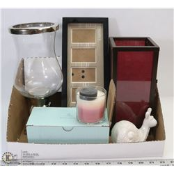 PARTYLITE CANDLES WITH HOLDERS AND MORE