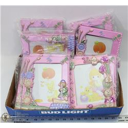 FLAT OF ASSORTED PRINCESS PICTURE FRAMES