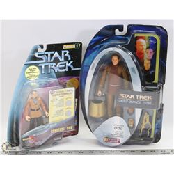 PAIR OF 2 NEW STAR TREK DEEP SPACE NINE FIGURES.