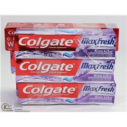 6 COLGATE ASSORTED TOOTHPASTE