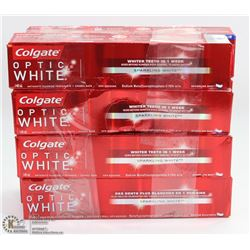8 COLGATE OPTIC WHITE TOOTHPASTE