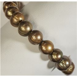 #26)FRESH WATER PEARLS BRACELET